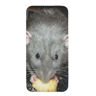 blue dumbo rat smartphone pouch