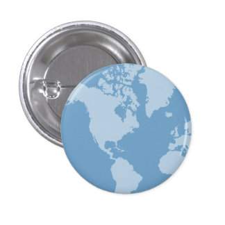 Blue Earth Button