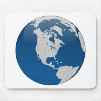 Blue Earth High Quality Print Mousepad