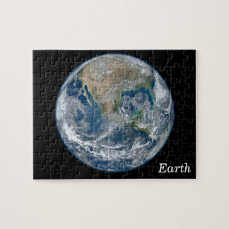 Blue Earth Jigsaw Puzzle