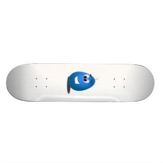 Blue Easter Egg Custom Skateboard