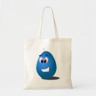 Blue Easter Egg Tote Bag