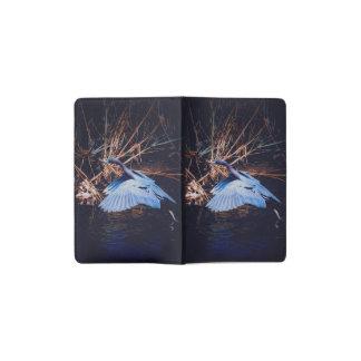 Blue Egret taking off Pocket Moleskine Notebook
