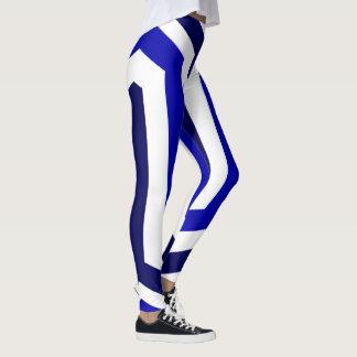 Blue Egypt Leggings