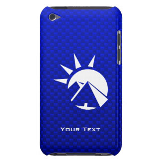 Blue Egyptian Pyramid iPod Touch Case