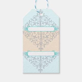 Blue Elegant Gift Tags