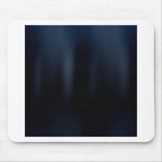 Blue elegant sparkling chains mouse pad
