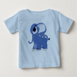 Blue elephant baby T-Shirt