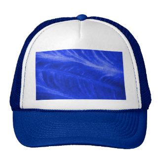 Blue Elephant Ear Texture Mesh Hat