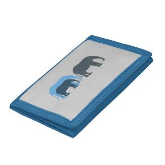 Blue Elephants Wallet