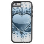 Blue Emo Heart iPhone 6 Case