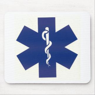 Blue EMT Mouse Pads