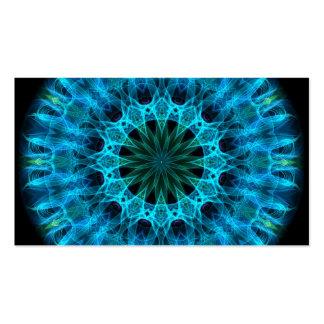 Blue Energy Kaleidoscope Pack Of Standard Business Cards