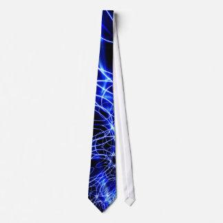 Blue Energy Lines, Fantasy Blue Flash Tie