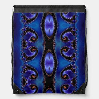 Blue Energy Tapestry Rucksack