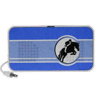Blue Equestrian Travel Speakers