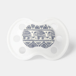 Blue Ethnic Elephant Pattern Dummy