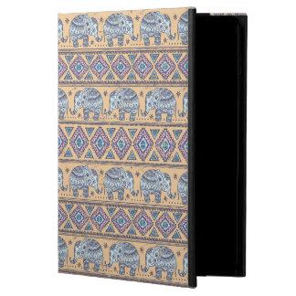 Blue Ethnic Elephant Tribal Pattern iPad Air Case
