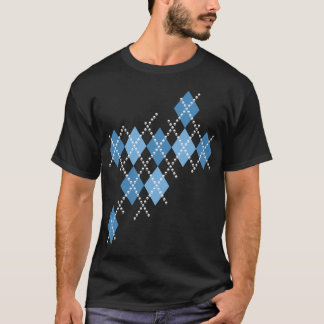 Blue Evil Argyle T-Shirt