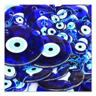 Blue Evil Eye amulets Photo
