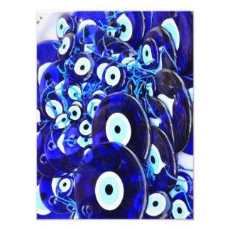 Blue Evil Eye amulets Photo Art