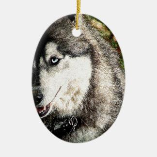 Blue Eye Christmas Ornament
