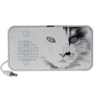 Blue Eye`d Cat Mp3 Speaker