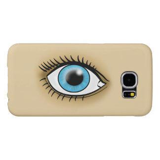 Blue Eye icon Samsung Galaxy S6 Cases