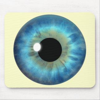 Blue Eye Iris Custom Cool Mousepad Mousemat