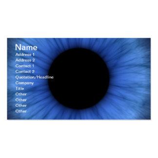 blue eye is cute pack of standard business cards