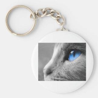 Blue eye jpg keychain