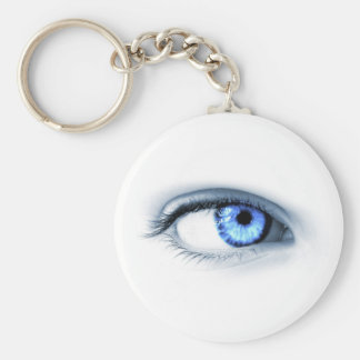 Blue Eye Key Chains