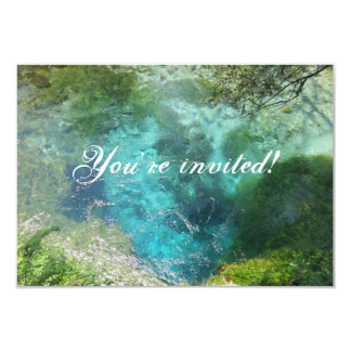 Blue Eye Natural Spring invitation