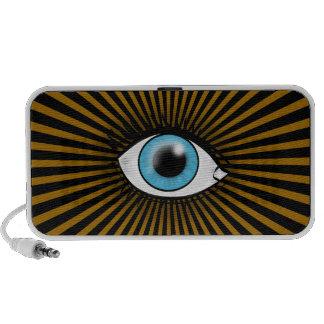 Blue Eye of Horus Notebook Speaker