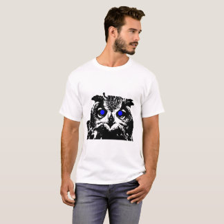 Blue eye Owl T-Shirt