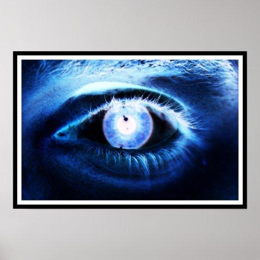 Blue Eye Poster
