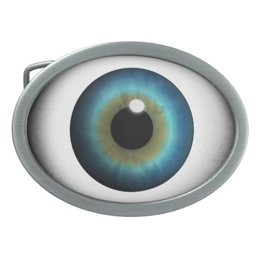 Blue Eyeball Blue Eye Iris Cool Custom Belt