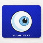 Blue Eyeball Mouse Pad