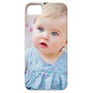 Blue-Eyed Baby Girl iPhone 5 Cases