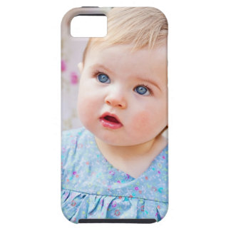 Blue-Eyed Baby Girl iPhone 5 Cover