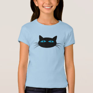 Blue-Eyed Black Cat T-Shirt