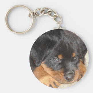 Blue Eyed Boy Key Ring