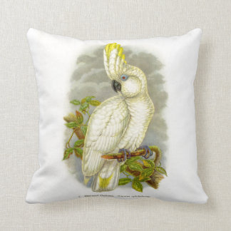 Blue-Eyed Cockatoo Cushion