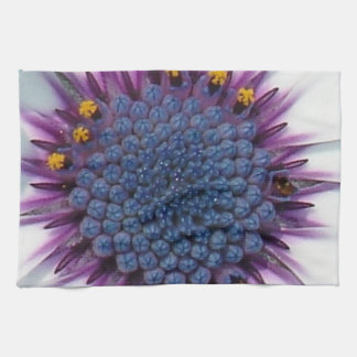 Blue Eyed Daisy Macro Tea Towel