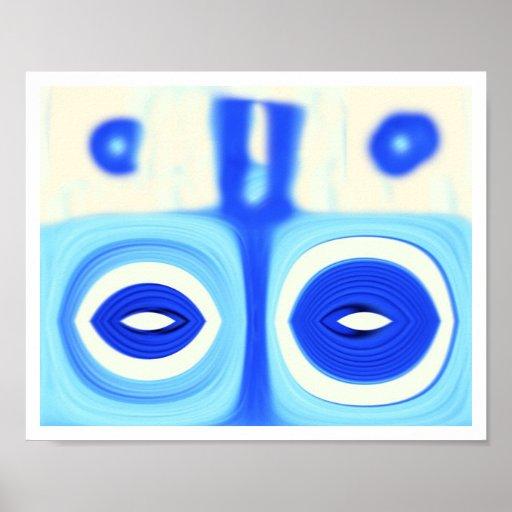 blue eyed devil poster