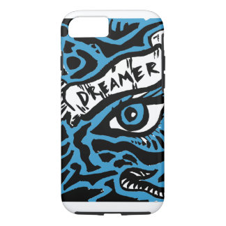 Blue Eyed Dreamer iPhone 7 Case