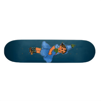 Blue-eyed Flax Skate Decks