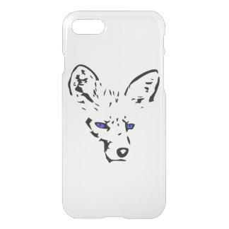 Blue Eyed Fox iPhone 7 Case