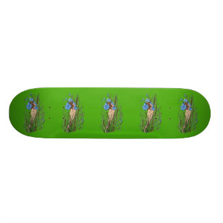Blue-Eyed Grass Skate Deck