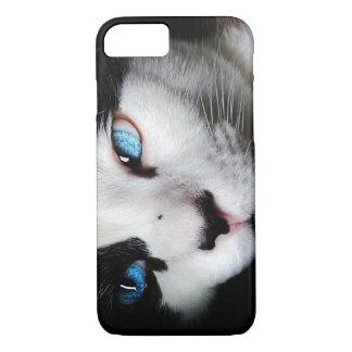 Blue Eyed Kitty Iphone 7 Case